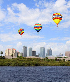 Hot Air Balloons over Tampa